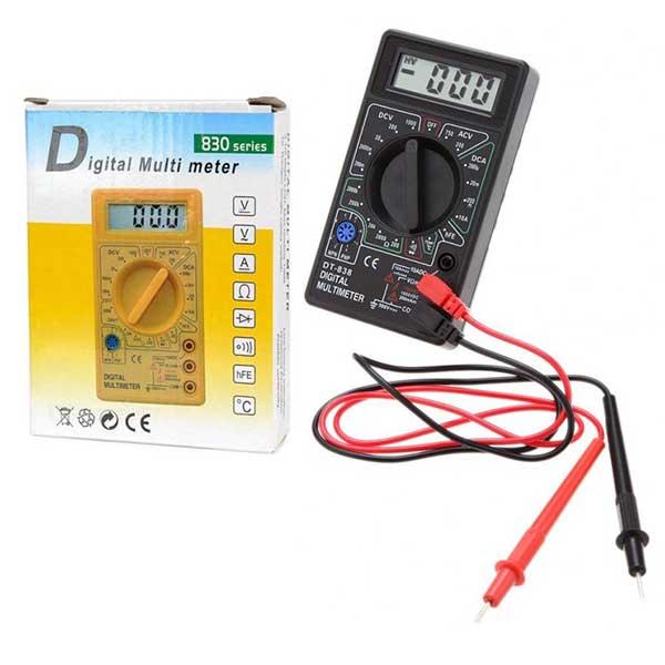 مولتی متر دیجیتالی dt 83032d مشکی - Home electronics