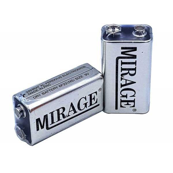 باتری کتابی 9 ولت مارک mirage - Home electronics