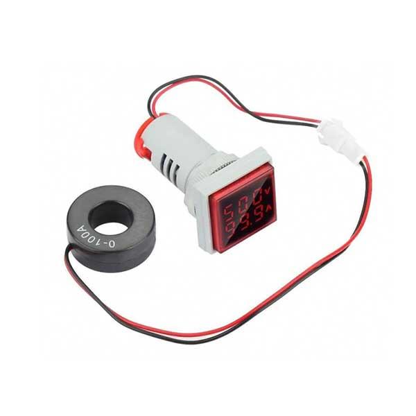 سیگنال با ولتمتر و آمپرمتر روپنلی مدل ad16 22fva - Home electronics