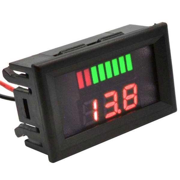 نمایشگر ولتاژ باتری 12 ولت - Home electronics